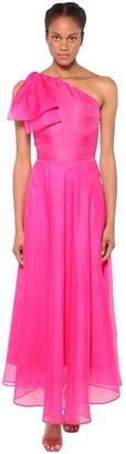 MSGM Lined Organza Maxi Dress