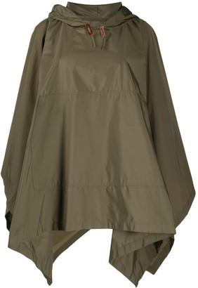 MACKINTOSH Alness hooded cape coat