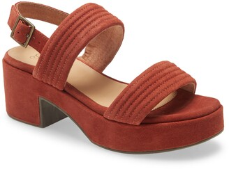 Seychelles Customs Platform Sandal