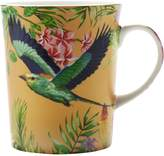 Maxwell & Williams Cashmere Birds of Paradise Mug, Gold, 330ml