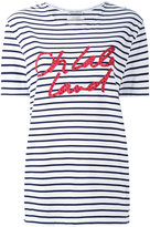 Each X Other striped boyfriend T-shirt - women - Cotton - XS