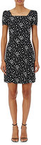 Saint Laurent Women's Star-Print Fit & Flare Dress