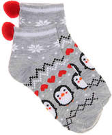 High Point Design Penguin Toddler & Youth Ankle Socks - Girl's
