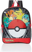 Pokemon Boys' Pocket inch Backpack with Lunch Kit