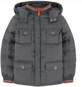 Armani Junior Coat with feather padding