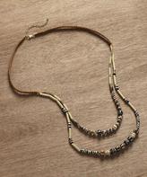 Braided Swirl Beads Necklace