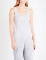 Missoni Sleeveless metallic-knit top
