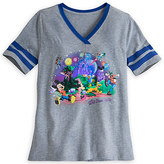Disney Mickey Mouse and Friends Storybook Athletic Tee for Women - Walt World