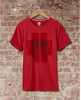 Express one eleven squares graphic t-shirt