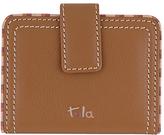 Tula Mallory Leather Card Holder, Tan