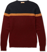 Etro - Colour-block Cashmere Sweater