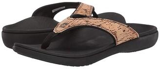Spenco Yumi 2 Cork (Black) Women's Sandals