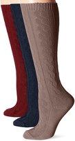 Muk Luks Women's Microfiber Knee High Socks