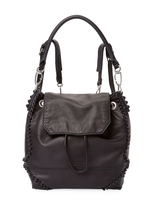 Liebeskind Berlin Women's Leather Knots Backpack w/Tophandle