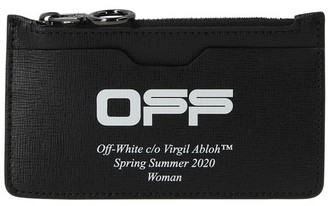 Off-White Off White Zip card holder