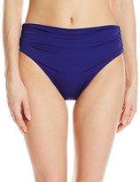 Badgley Mischka Women's High Waisted Brief Bikini Bottom