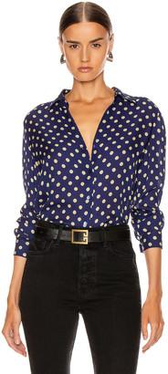 L'Agence Nina Long Sleeve Top in Oceana Multi Maestro | FWRD