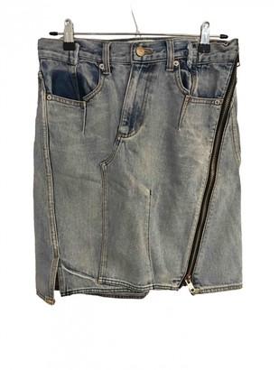 3.1 Phillip Lim Blue Denim - Jeans Skirt for Women