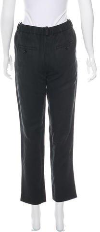 Etoile Isabel Marant High-Rise Cropped Pants