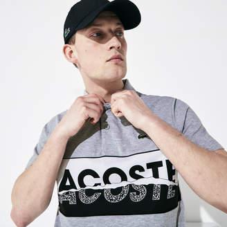 Lacoste Men's SPORT Logo-Graphic Lightweight Polo