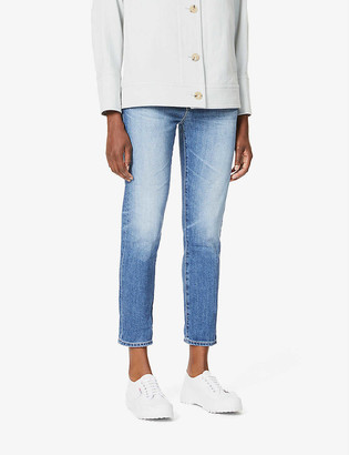 AG Jeans Ex-Boyfriend straight high-rise jeans