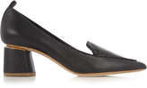 Nicholas Kirkwood Beya grained-leather block-heel pumps