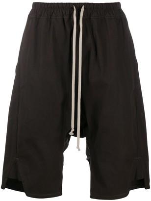 Rick Owens Oversized Drawstring Shorts