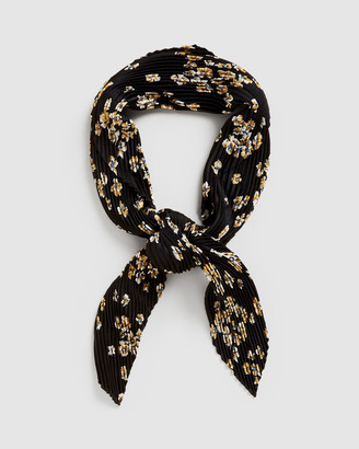 French Connection Women's Scarves & Gloves - Ditsy Floral Pleated Scarf - Size One Size, 00 at The Iconic