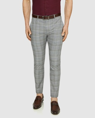 TAROCASH Cooper Slim Check Pants