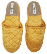 Kumi Kookoon Silk Slippers, Marigold