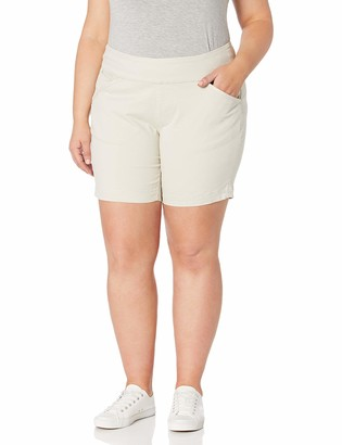 "Jag Jeans Women's Plus Size Ainsley 8"" Pull on Short"