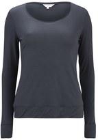 Derek Rose Women's Carla 1 Ladies Long Sleeve TShirt - Charcoal