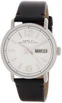 Marc by Marc Jacobs Men's Fergus Leather Strap Watch