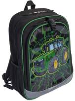 John Deere Boys Tractor Burst Backpack