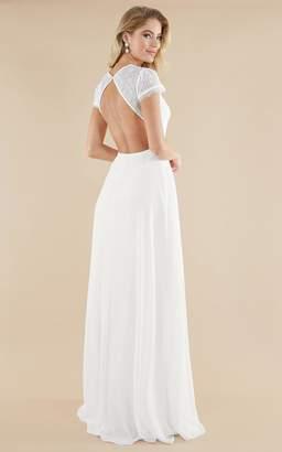 Showpo Everlasting Gown in white - 4 (XXS) Bridal Gowns