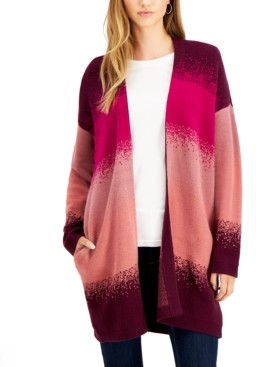 Willow Drive Striped Ombre Cardigan