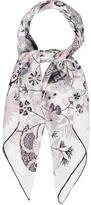 Hermes Fleurs et Papillons de Tissus Silk Scarf