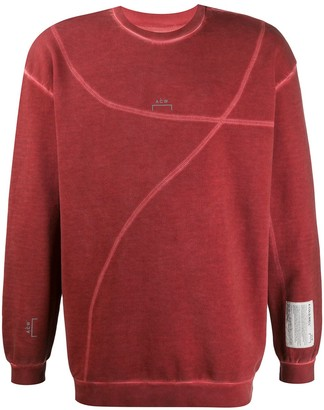 A-Cold-Wall* Distressed Oversize Sweatshirt