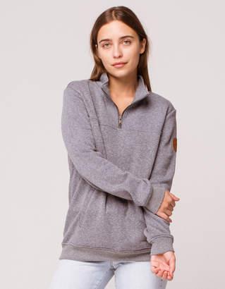 Roxy Supertubes Half Zip Womens Fleece Pullover