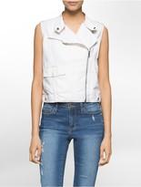 Calvin Klein Cotton Moto Vest