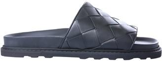 Bottega Veneta Braided Nappa Leather Slide Sandal