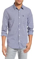 Original Penguin Men's Trim Fit Dobby Gingham Shirt