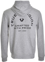 True Religion Crafted W Pride Full Zip Hoodie Grey