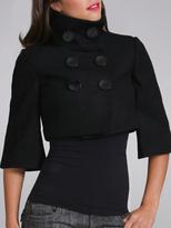 Cropped Wool Jacket
