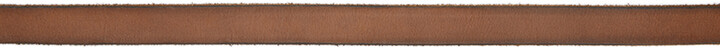 Thumbnail for your product : Gucci Brown Thin GG Marmont Belt