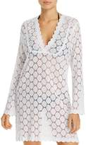 J Valdi V-Yoke Tunic Swim Cover-Up