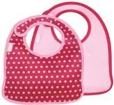 Built NY Infant Bib Baby Pink Mini Dots (Set of 2)