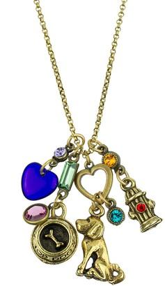 Anne Koplik Dog Jumble Necklace