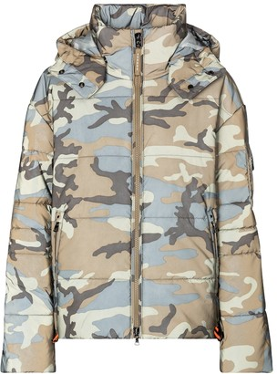Bogner Lora camouflage padded jacket