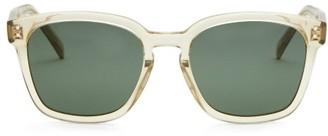 Celine Square Acetate Sunglasses - Light Green